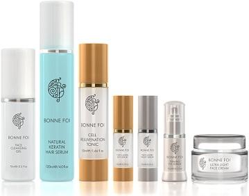 Natural Skin Care, made in the USA, Bonne Foi